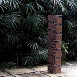 Zulkifli Lee_Rangkul_Wood&Steel_145x25x25cm_2020